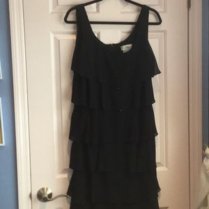 Patra short black dress